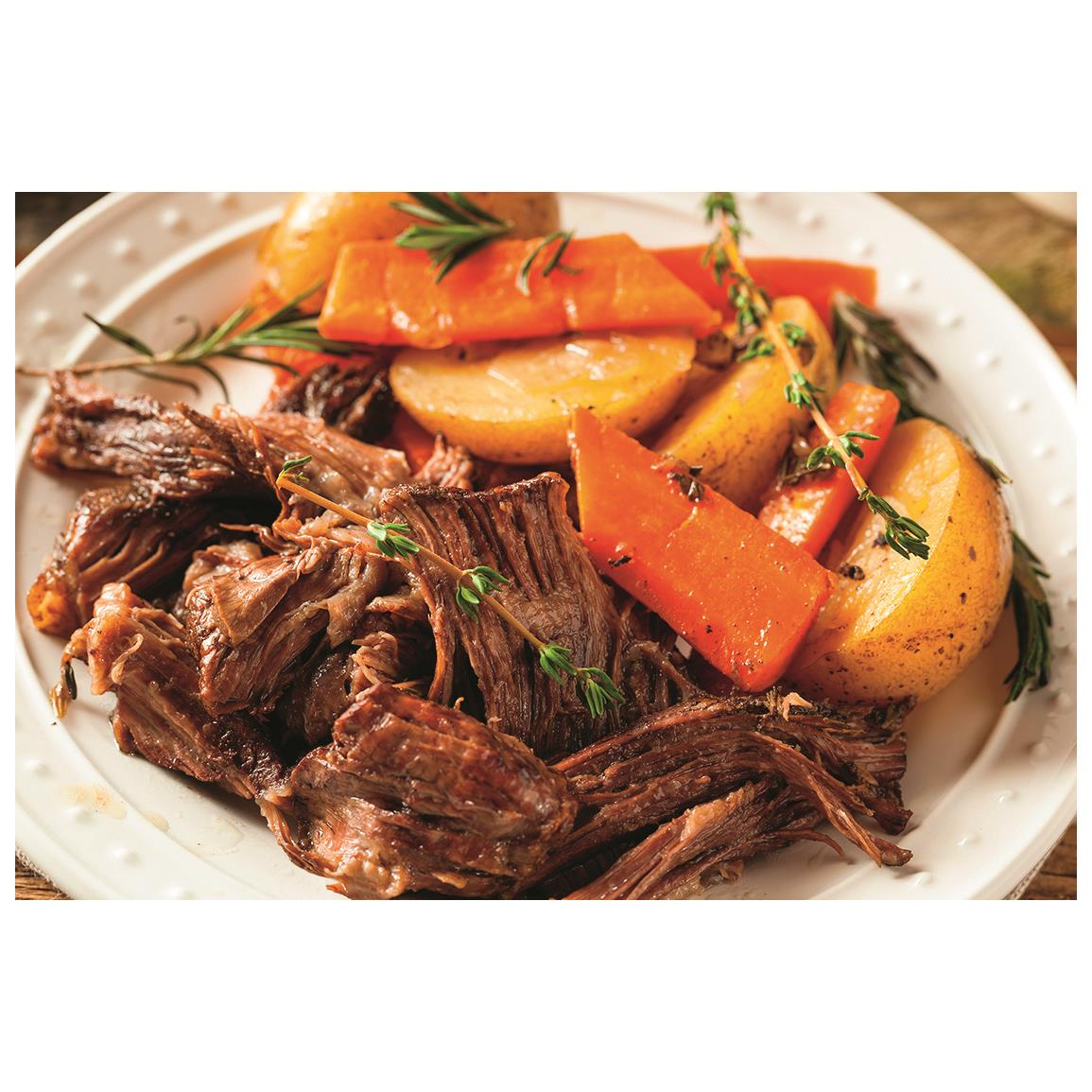 Sunday Pot Roast Using a Pressure Cooker